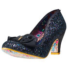 Irregular Choice Kanjanka Womens Shoes Black New Shoes