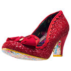 Irregular Choice Kanjanka Womens Red Synthetic Casual Shoes Slip-on New Style