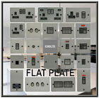 FLAT PLATE BLACK NICKEL USB PLUG SOCKETS STANDARD & LED DIMMER LIGHT SWITCH