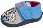 Postman Pat Slippers Easy Touch Fastening Booties Mules Kids Boys Shoes Size