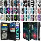 For Motorola Moto X Style XT1575 All-In-One PU Leather Wallet Cover Case + Pen
