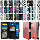For ZTE ZMAX 2 Z958 Z955L All-In-One Premium Leather Wallet Cover Case + Pen