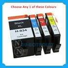 Any 1x CT Compatible 934XL-BK+935XL C/M/Y HY Ink Cart for HP OJ 6820/6230/6830