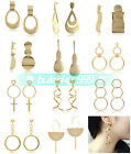NEW 1Pair Elegant Women Lady Fashion Drop Earrings Ear Stud Dangle Gold Jewelry