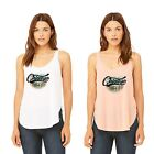 Ish Original Official Women Ladies Chicago Skyline Side Slit Tank Tops Tee