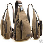 Men's Shoulder Canvas Messenger Bags Sport Casual bag Outdoors Hiking Travel Bag