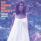 NICOLE HENRY (JAZZ VOCALS) - SO GOOD, SO RIGHT: NICOLE HENRY LIVE [DIGIPAK] * US