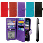 For LG Stylo 3 Stylus 3 L83BL All-In-One PU Leather Wallet Cover TPU Case + Pen