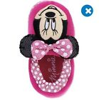 NWT Disney Pink Minnie Mouse Slippers Toddler girls sIze L 9/10 XL 11/12