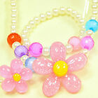 Gift Girls Princess Baby Beads Necklace&Bracelet&Ring Cute Set Jewelry Little
