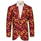 Forever Collectibles NBA Men's Cleveland Cavaliers Ugly Business Jacket, Maroon on eBay
