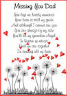 DAD SON BROTHER GRANDAD Male Bereavement Graveside Memorial Birthday Card M25