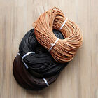 Faux Suede Flat Leather Cord Wire Lace String 3/4/5mm -3 Colors 1 Meters