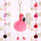 Unicorn Flamingo Key Chain Ring Key Holder Handbag Car Pendant Accessories Gifts
