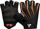 RDX Ladies Bike Cycling Half Finger Gloves Short Finger Gel Women's Sport Glove