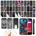 For Huawei Union Y538 Virgin Mobile Ultra Thin Clear TPU Case Phone Cover + Pen