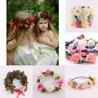 Mom &Kids Wedding Flower Hair Garland Crown Headband Floral Wreath Hairband* New