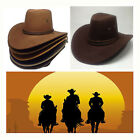 Fashion New Men Women Wild West Fancy Cowgirl Cowboy Hats Western Headwear Cap