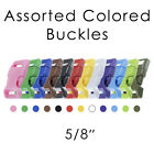 """PARACORD PLANET 5/8"""" Side Release Buckles - Multiple Colors & Pack Sizes"""