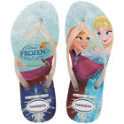Havaianas Princess Kids Flip Flops White Multicolour New Shoes