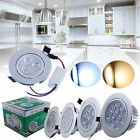 6/30X 3W/7W/12W LED Ceiling Downlights Recessed Spotlights Round Tilt Warm/white