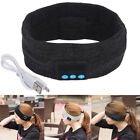 Wireless Bluetooth Stereo Headphone Sleep Headset Sports Headbands w/ Speaker