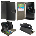 For Sony Experia Xperia XA1-Leather Wallet Flip Case Cover + Screen Protector <br/> Free Screen Protector / Also Fit to Xperia XA1 Dual Sim