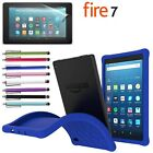 kindle 7 inch - 2017 Amazon Kindle Fire 7 inch Table Soft Silicone/Gel/Rubber Case Kids Friendly