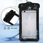 8L Waterproof Dry Bag+Floating Phone Case Pouch for Beach Kayak Fishing Camping