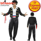 CA414 Mens New Romantic 80s Adam Ant Boy George Costume Pop Star Fancy Outfit