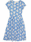 Seasalt Blue Corde Fleur Cobalt Riviera dress organic cotton jersey RRP £45