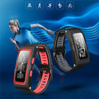 T28 GPS Tracker Heart Rate Monitor Healthy Smart Bracelet Compatible Android IOS