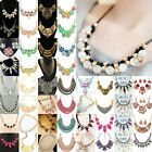 Women's 60 Styles Pendant Choker Chunky Statement Bib Necklace NECK-09