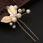 White Wedding Hair Accessories Bridal hair Clips Chiffon flower hair piece
