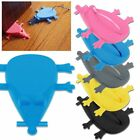 2017 Silicone Rubber Mouse Door Stop Wedge -5COLOURS Novelty Christmas Birthday