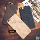 Luxury SUPER Thin PU Leather Back Skin Case Cover For Apple iPhone 7 6 6S Plus