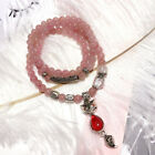 Bracelet Necklace Natural Strawberry Crystal Fox Totoro Korea Lucky Totoro Fox