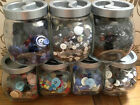ASSORTED BUTTONS - MASCULINE mixes *NEW BLACK MIX* - Buy 3 bags, Get 4th FREE!