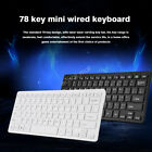 Mini Multimedia USB Wired External Office Gaming Keyboard For PC Laptop Notebook