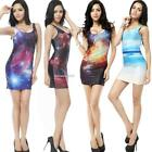 Fashion Digital Printing Stretch Bodycon Sleeveless Slim Fit Tank Colors 01