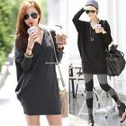 New Women's Ladies Long Sleeve V-neck Batwing Loose T-shirt Blouse B20E