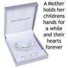 Equilibrium Silver Plated Mother Child Forever Bangle Gift Boxed