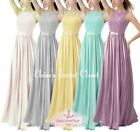 TULA Various Colours Chiffon Lace Chiffon Bridesmaid Dress UK Sizes 6 -18