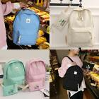 Women Canvas Backpacks Softback Computer Bags Casual Backpack with Small B20E