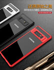 iPaky For Samsung Galaxy Note 8 Case Soft Silicone Frame + Acrylic Back Cover