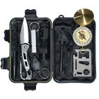 Golberg 11 in 1 Survival Emergency Multi Tool Kit - Great for Camping & Hiking