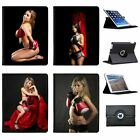 The Beautiful Women Of Boxing Folio Cover Leather Case For Apple iPad