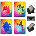 Mythical Magical Unicorns Dressing Up Universal Leather Case For Acer Tablets