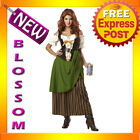 C172 Tavern Maiden Maid Renaissance Waitress Oktoberfest Halloween Adult Costume