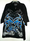 NWT CHROME EAGLE CUSTOM CHOPPER MOTORCYCLE HAWAIIAN SHIRT sz XXL